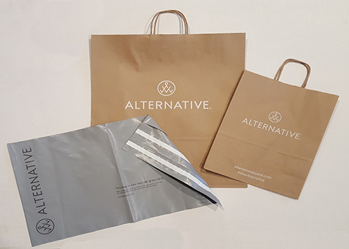 Custom Printed Bags for Alternative Apparel