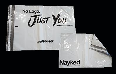 Nayked Apparel Mailing Bags