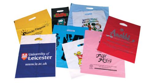 Printed Plastic Retail Bags