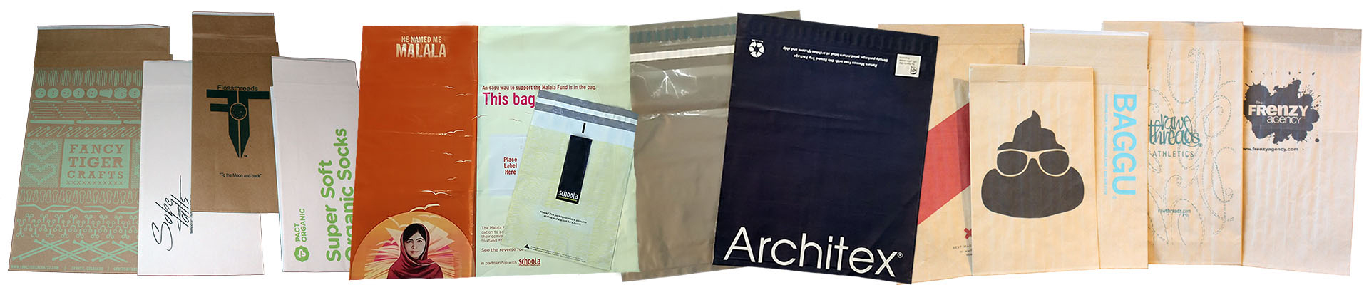 ecadf278b69e Distinguish Your Brand with Custom Printed Mailing Bags   Poly Mailers