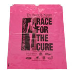 Custom Eco Friendly Drawstring Bag, Race for the Cure Drawstring Bag, Susan G Komen Custom Bag, Packaging and Labeling