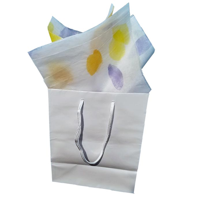 Pellu3C Custom Printed Tissue in Bag